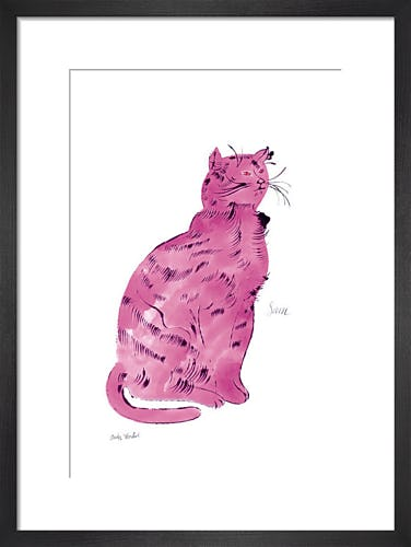Pink Sam, c.1954 by Andy Warhol