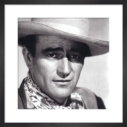 John Wayne, 1943 by Celebrity Image
