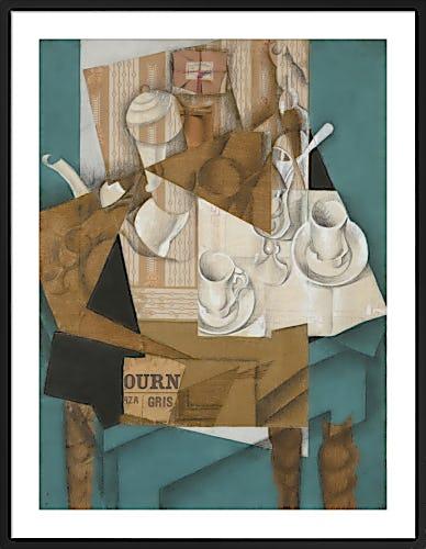Breakfast, 1914 by Juan Gris