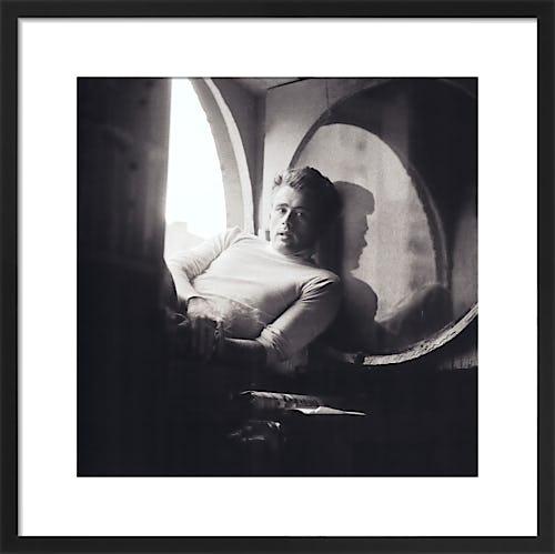 James Dean NY, 1954 by Schatt