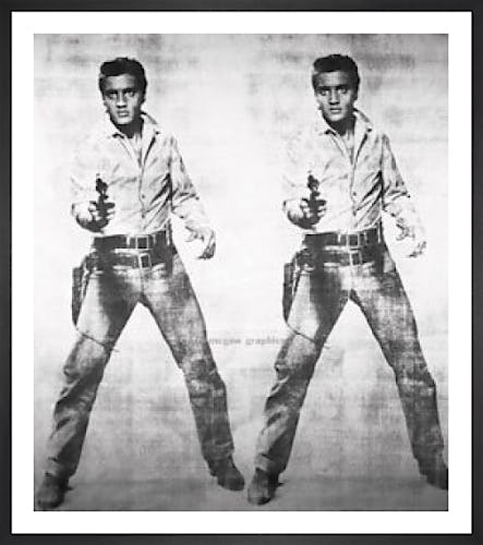 Elvis 2 Times, 1963 by Andy Warhol