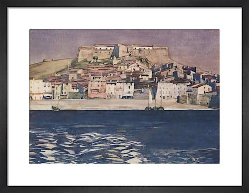 Collioure by Charles Rennie Mackintosh