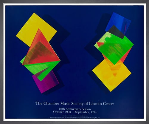 Chamber Music Society of Lincoln Center, 1993-94 by Dorothea Rockburne