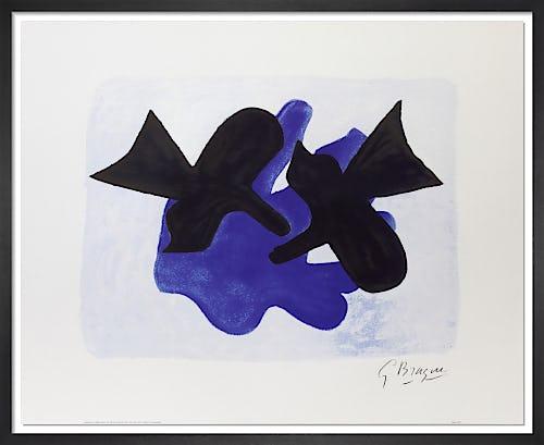 L'Astre et l'Oiseau II by Georges Braque