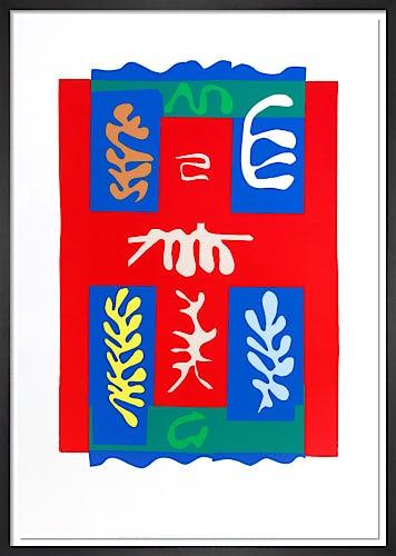 Composition a la croix rouge by Henri Matisse
