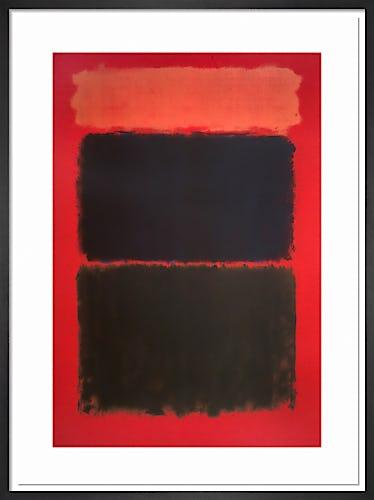 Light Red over Black, 1957 by Mark Rothko