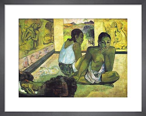 Te Rerioa by Paul Gauguin
