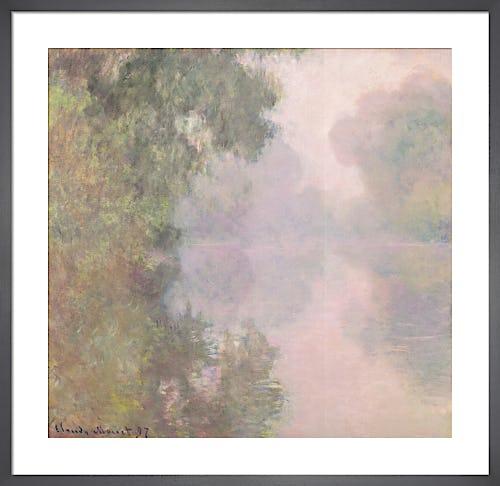 The Seine, 1897 by Claude Monet