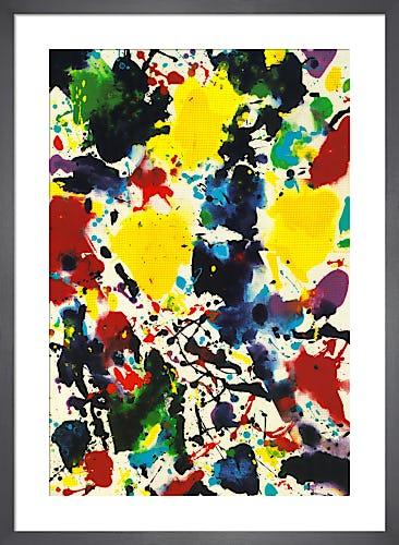Untitled, 1980 by Sam Francis