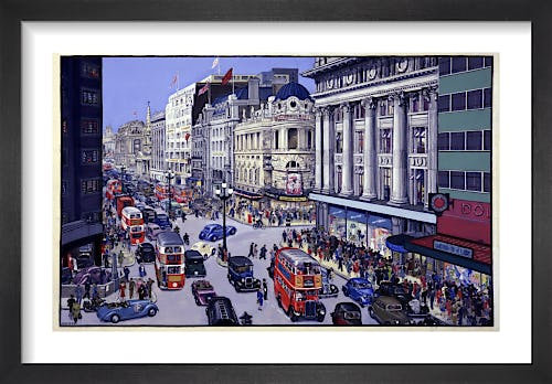 West End London Street Scene by The National Archives