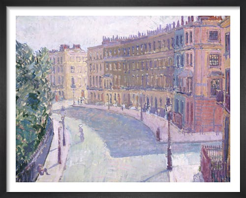 Mornington Crescent c.1910 (1) by Spencer Gore