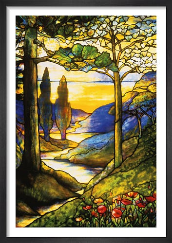 Window Scene by Tiffany Studios