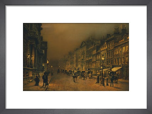 St James's Street by John Atkinson Grimshaw