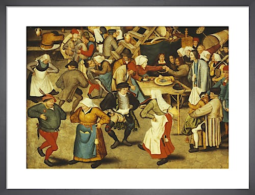 The Indoor Wedding Dance by Pieter Brueghel The Younger