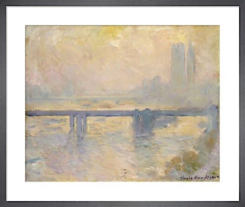 Charing Cross Bridge, 1903 by Claude Monet