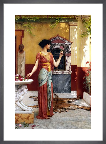 The Bouquet by John William Godward