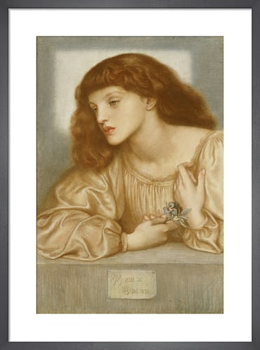May Morris, 1872 by Dante Gabriel Rossetti