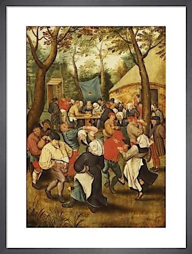 The Outdoor Wedding Dance by Pieter Brueghel The Younger