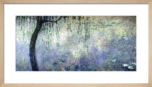 Waterlilies - Two Weeping Willows, 1914 by Claude Monet