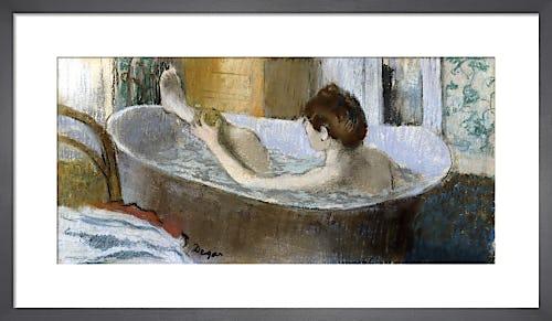 Woman in her Bath Sponging her Leg, c.1883 by Edgar Degas