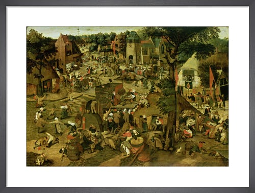 A Village Fair (Village festival in Honour of Saint Hubert and Saint Anthony) 1562 by Pieter Brueghel The Younger