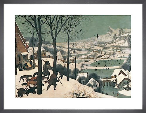 Hunters in the Snow, February 1565 by Pieter Bruegel The Elder