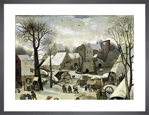 The Census at Bethlehem by Pieter Bruegel The Elder