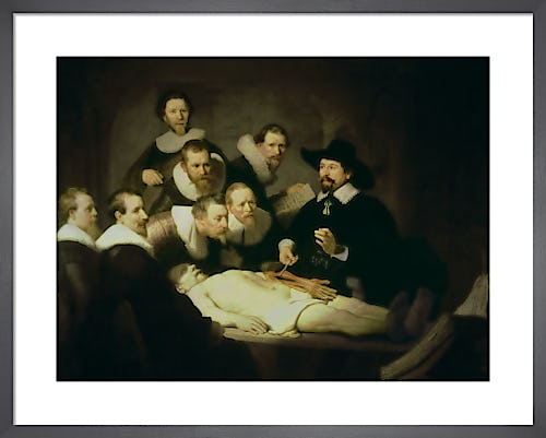 The Anatomy Lesson of Dr. Nicolaes Tulp, 1632 by Rembrandt van Rijn