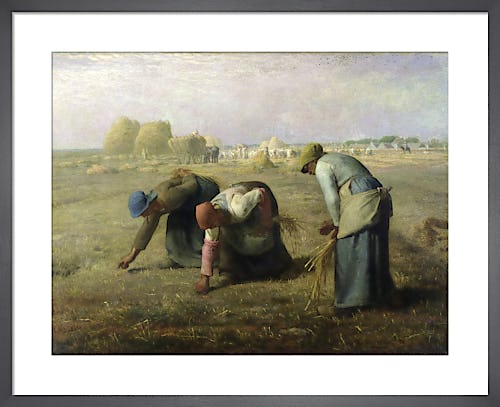 The Gleaners, 1857 by Jean Francois Millet