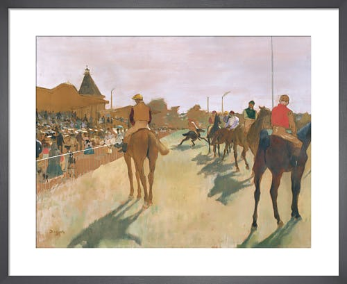 The Parade, c.1866 by Edgar Degas