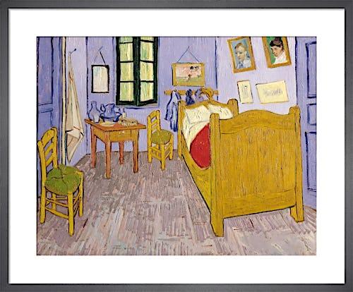 Bedroom at Arles, 1889 by Vincent Van Gogh