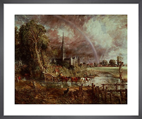 Salisbury Cathedral from the Meadows, 1831 by John Constable
