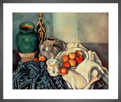 Still Life with Apples, 1893 by Paul Cézanne