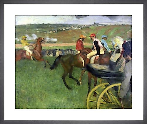 The Race Course, c.1876 by Edgar Degas