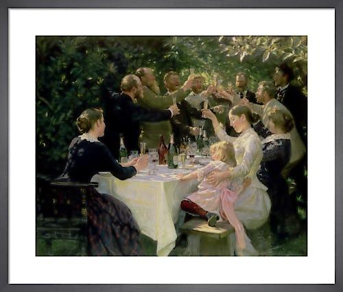 Hip Hip Hurrah! Artists' Party at Skagen, 1888 by Peder Severin Kröyer