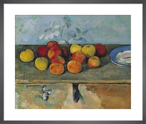 Still Life of Apples and Biscuits, 1880 by Paul Cézanne
