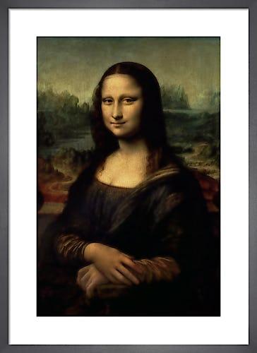 Mona Lisa, c.1503 by Leonardo da Vinci