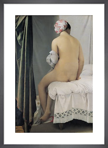 The Bather, 1808 by Jean-Auguste-Dominique Ingres