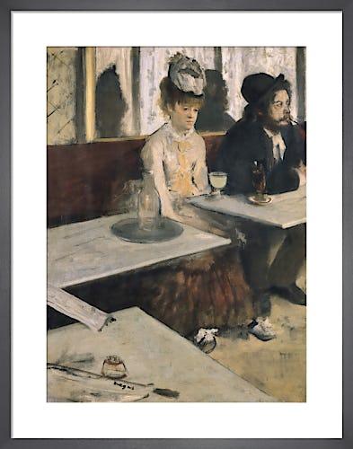 L' Absinthe by Edgar Degas