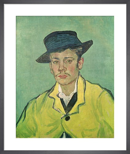 Portrait of Armand Roulin, 1888 by Vincent Van Gogh