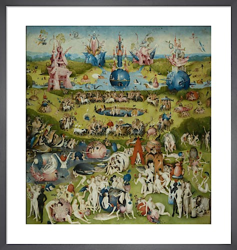 The Garden of Earthly Delights: Allegory of Luxury by Hieronymus Bosch