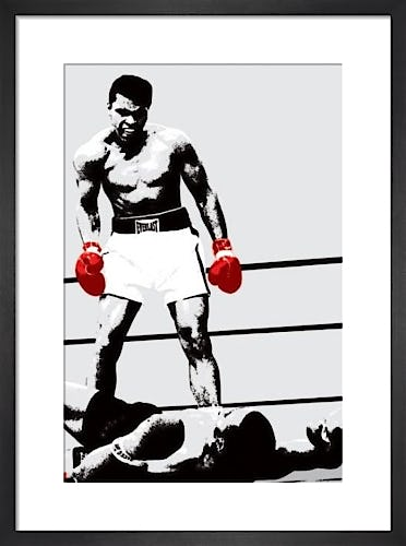 Muhammad Ali (Gloves) by Celebrity Image