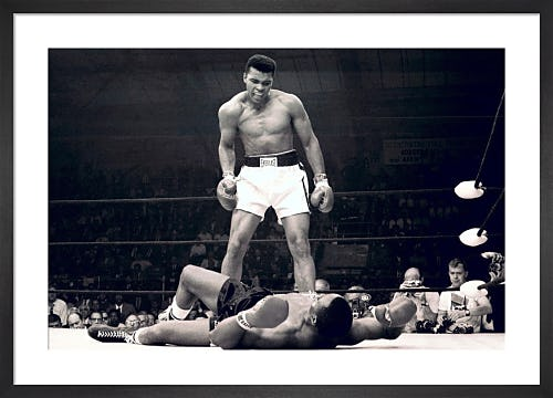 Muhammad Ali (v Liston) by Celebrity Image