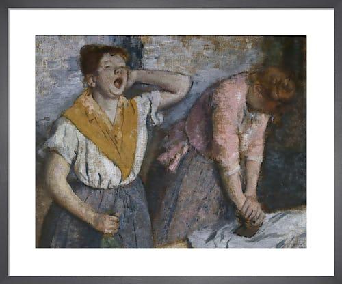 The Laundresses (detail) by Edgar Degas