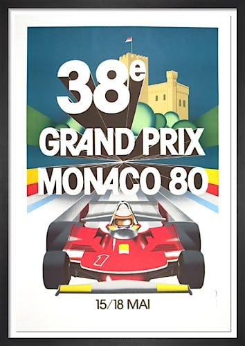 Monaco Grand Prix, 1980 from Rare & Limited