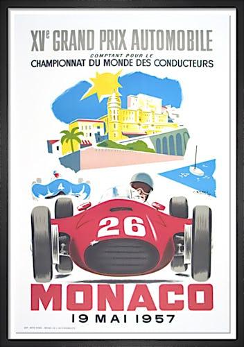 Monaco Grand Prix 1957 by J. Ramel