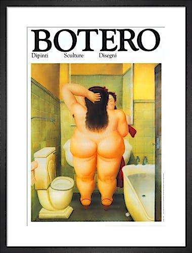 The Bath by Fernando Botero
