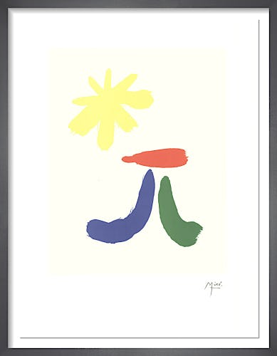 Illustrated Poems-'Parler Seul' XIV by Joan Miro