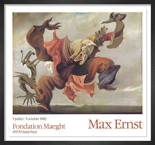 L'Ange Du Foyer, 1937 by Max Ernst