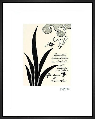 Dans Deux Choses by Georges Braque